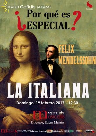 ¿Por qué es especial? Mendelssohn - La Italiana