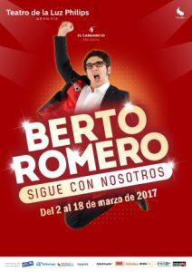 Berto Romero sigue con nosotros