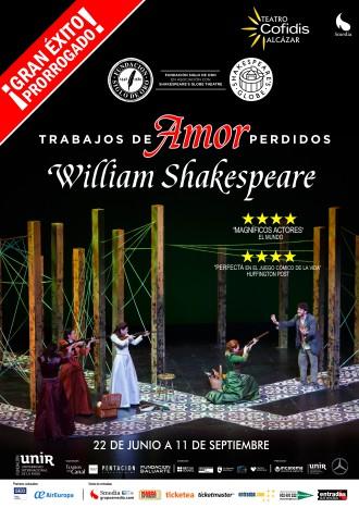 Trabajos de amor perdidos en el teatro cofidis alc zar for Busco trabajo en aranjuez