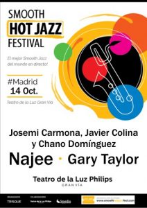 Josemi Carmona y Javier Colinacon Chano Dominguez - Najee - Gary Taylor - Smooth Hot Jazz Festival