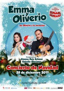 Emma y Oliverio concierto de Navidad