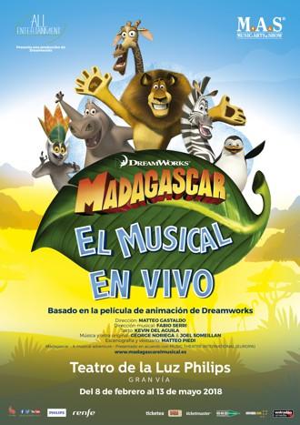 Madagascar - El musical en vivo