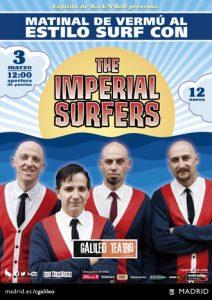 Matinales de vermú al estilo surf con The Imperial Surfers