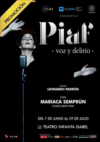 Piaf voz y delirio