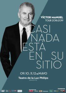 Víctor Manuel - Casi nada está en su sitio