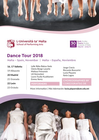 Dance Tour 2018 - Universidad de Malta