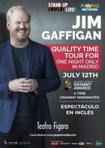 Jim Gaffigan's european tour