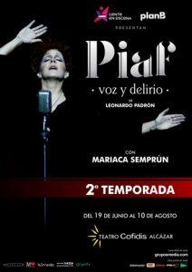 Piaf, voz y delirio - El musical