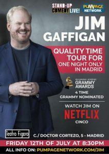 Jim Gaffigan's european tour
