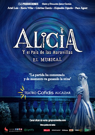 Alicia Y El País De Las Maravillas En El Teatro Cofidis Alcázar