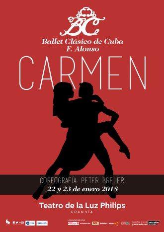 Carmen - Ballet Clásico de Cuba F. Alonso