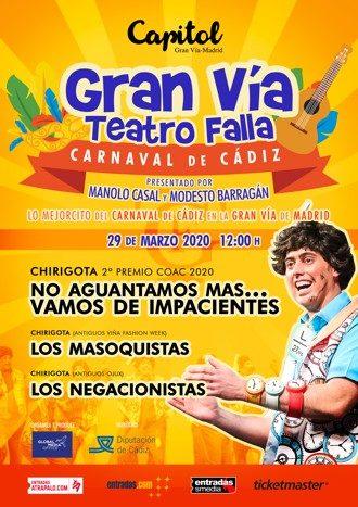 Carnaval de Cádiz - Gran Vía Teatro Falla 2020
