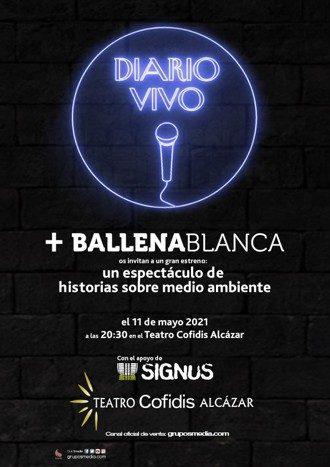 Diario Vivo + Ballena blanca