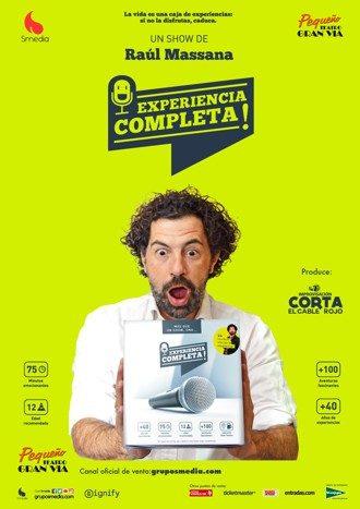 Experiencia completa - Raúl Massana