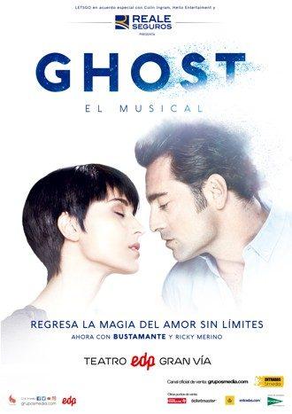 Ghost El Musical, más allá del amor con Bustamante