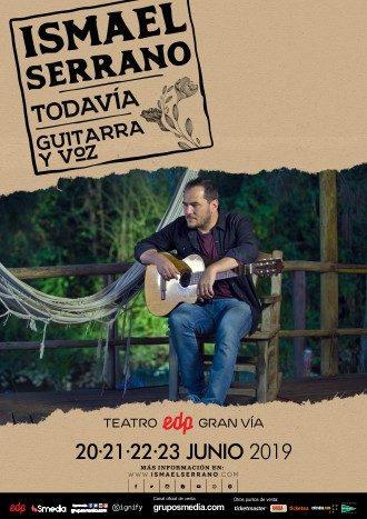 Ismael Serrano - Todavía, una gira en acústico