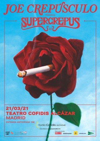 Joe Crepúsculo en concierto - Supercrepus II