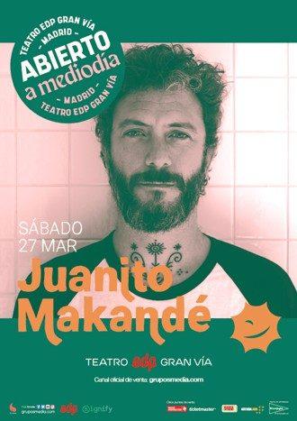 Juanito Makandé en concierto - Abierto a mediodía