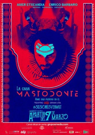 La transfiguración del mastodonte. Asier Etxeandia