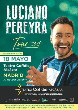 Luciano Pereyra Tour 2020
