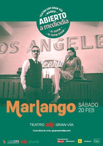 Marlango en concierto - Abierto a mediodía