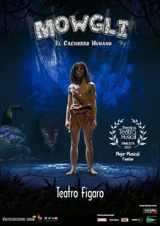 Mowgli, el cachorro humano