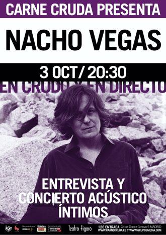 En Crudo y en Directo con Nacho Vegas