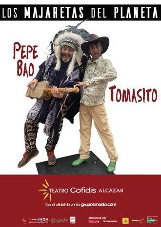 Pepe Bao y Tomasito - Majaretas en concierto