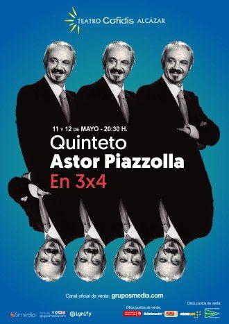 Quinteto Astor Piazzolla. En 3x4