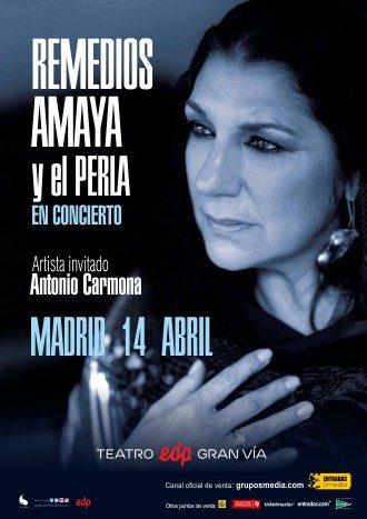 Remedios Amaya y el Perla en concierto