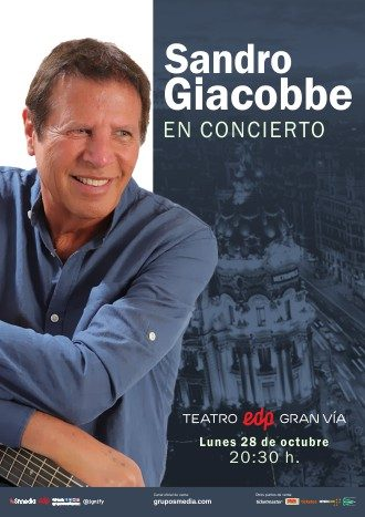 Sandro Giacobbe en concierto
